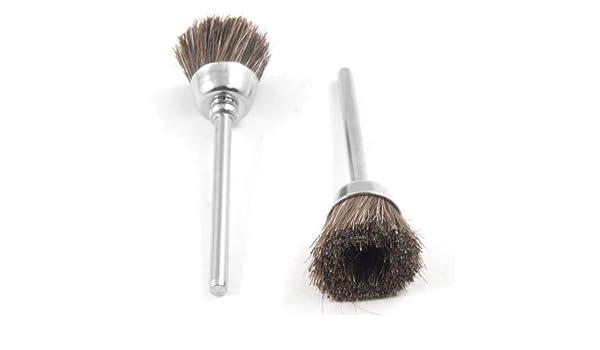 5 Pcs Brown Soft Nylon Cup Brush Polishing Buffing Polisher Tool