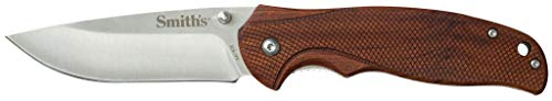 Smith's 51011 Adaha Wooden Handled Knife, Brown