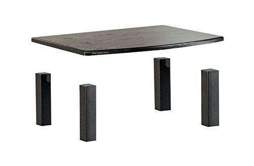 (Plateau XT-AA1 BB Wood and Metal Audio Stand, 1-Shelf, Black Oak Finish)