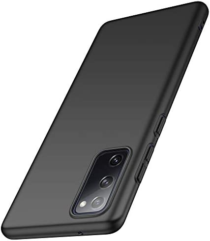 Anccer Compatible with Samsung Galaxy S20 FE 5G Case [Ultra-Thin] [Anti-Drop] New Premium Material Slim Full Protection Cover for Samsung S20 FE 5G (Black)