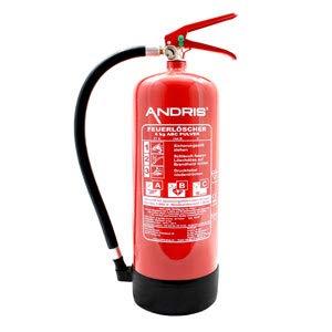 Beliebt Feuerlöscher 6kg ABC Pulverlöscher mit Manometer EN 3 + ANDRIS QE19