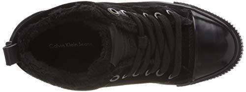 Altas Klein black Mujer Robina Eu Para Velvet Jeans Calvin Negro 40 Zapatillas 000 xZ6qXXB