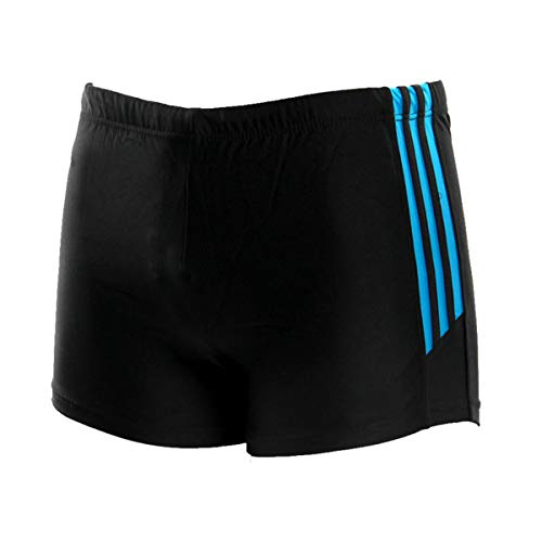 FEOYA Men's Square Leg Swimsuit Swimming Brief Swimming Trunks Swimming Shorts Size XXL - Blue