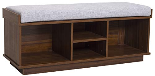 Ravenna Home Reeder Entryway Upholstered Storage Bench