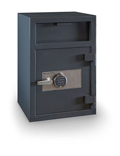 Hollon Safe FD-3020E B-Rated Depository Safe - S&G UL Listed Type 1 Electronic Keypad Rated Electronics