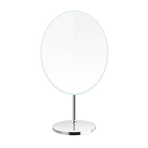 YI YA YA - Desktop Make - up Mirror Creative Desktop Mirror Elliptical Turntable Make - up Mirror High - definition Princess Mirror Rotating Mirror