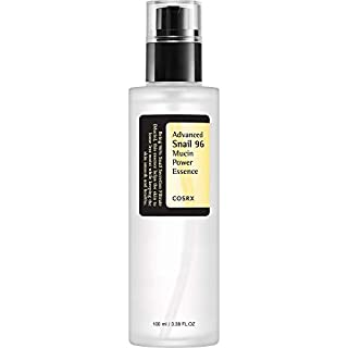 COSRX Advanced Snail 96 Mucin Power Essence, 3.38 fl.oz / 100ml | Snail Secretion Filtrate 96% | Hydrating | Korean Skin Care, Cruelty Free, Paraben Free, Alcohol Free