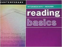 Book Reading Basics Intermediate 1, Reader SE [5/19/2011] Contemporary