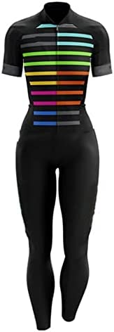 Women Profession Triathlon Suit Clothes Cycling/Short Sleeve Long Pant One-Piece Cycling Jersey Triathlon Jump