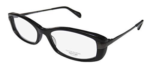 Oliver Peoples Idelle For Ladies/Women Designer Full-Rim Shape Elegant Stunning Trendy Eyeglasses/Glasses (50-16-131, Black)