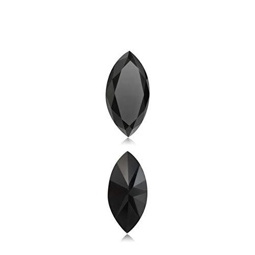 Mysticdrop 1.01 Cts AAA Marquise Cut (1 pcs) Loose Treated Fancy Black Diamonds