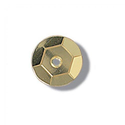 Zum Basteln 120 PS Cup Gold Impex Pailletten 10 mm