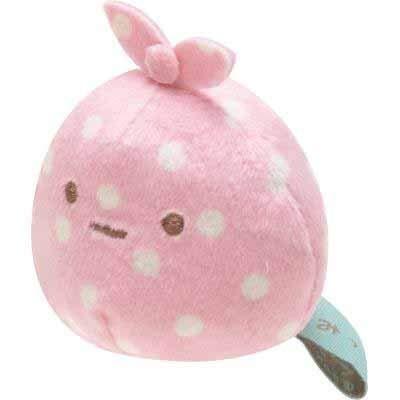 - San-x Sumikko Gurashi Plush 2'' Wrapping Cloth w/ Mini Rice Ball