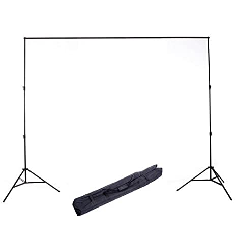 CowboyStudio Photography 10 ft Heavy Duty Crossbar Studio Portable Background Support System and Carry Case - 901 Cowboy Studio