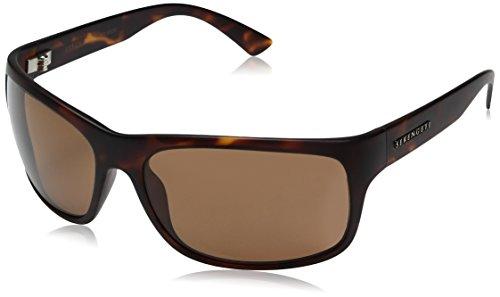 Serengeti Pistoia Polarized Drivers Sunglasses, Satin Dark ()