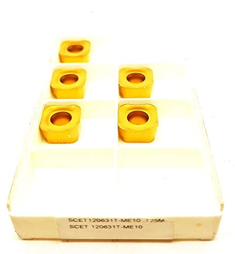 Seco SCET 120631T-ME10 Hartmetalleinsätze T25M Frässpitzen #SB1, 5 Stück