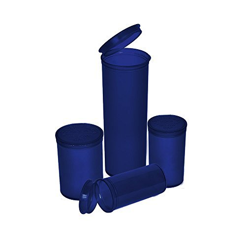 Philips Rx Translucent Blue Colored Pop Top Bottle 13 Dram (2 Boxes - 315 Containers per Box) - MJ-PPVB13