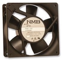 NMB TECHNOLOGIES - 4715FS-12T-B50-D00 - AXIAL FAN, 119MM, 115VAC, 190mA by NMB TECHNOLOGIES