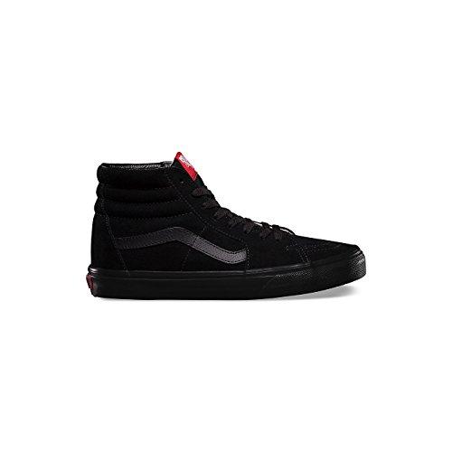 Vans Unisex Sk8-Hi (Suede) Black Black Skate Shoe 10 Men US 63d9665a4