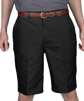 Edwards Garment Men's Flat Front Casual Chino Blend Short
