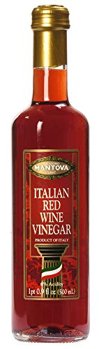 Mantova Italian - Mantova Italian Red Wine Vinegar, 17-Ounce Bottles (Pack of 4)