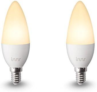 Innr Bombilla LED conectada, E14, luz blanca cálida, controlable ...