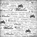 ATV 4 Wheelin' 34865 12 Inch x 12 Inch Scrapbook Paper - 1 Sheet