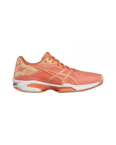 ASICS Gel Solution Speed 3 Clay Naranja Mujer E854N 0630 ...