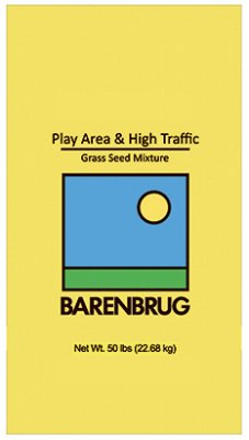 BARENBRUG USA 13086 Hi Traffic Seed, 50 lb