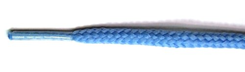 FootGalaxy Round Laces For Boots And Shoes Columbiablue