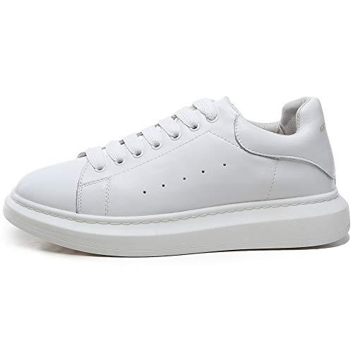 Piattaforma Bianco Scarpe YORWOR con da Outdoor Suola Leggera Sneaker Ginnastica Basse Comoda Bianco Platform Donna wSPw6qF