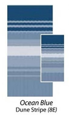 Carefree 80158E00 Ocean Blue 15' Universal Replacement Fabric by CAREFREE