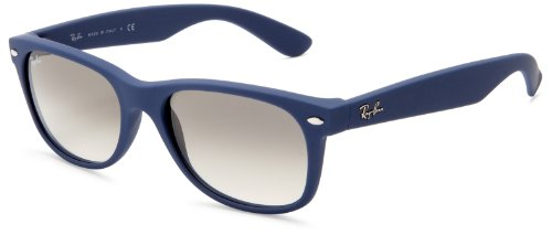 soleil Light 55 nbsp;mm de Ban Wayfarer Lunettes RB2132 Blue Ray Rubber nbsp;New xZqR6B4