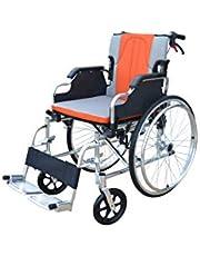 Polironeshop KEROS Rolstoel lichtgewicht opvouwbare aluminium draagbare zelfrijdende stoel