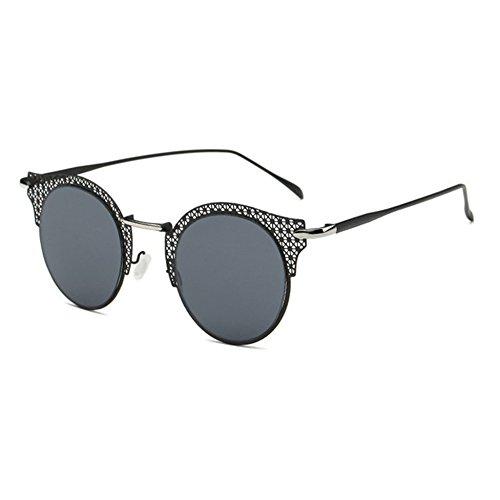 Aoligei Europe et lady rétro de l'United States Classic mode homme lunettes de soleil couple classique de la grande boîte en métal fNy3Mb6