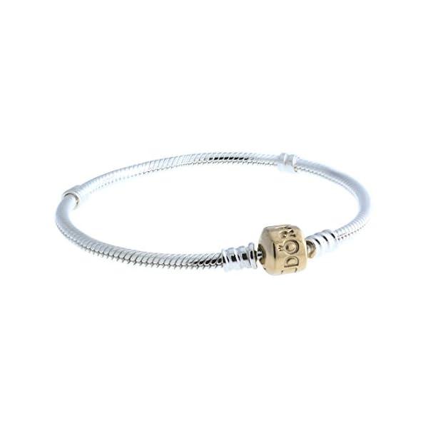 PANDORA-Sterling-Bracelet-with-14-Karat-Gold-PANDORA-Clasp-590702-19HG