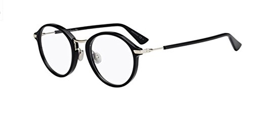 New Christian Dior Essence 6 0807 Black Eyeglasses