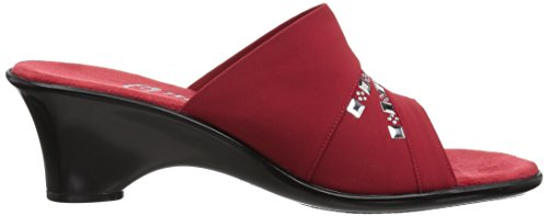 O NEX Red Onex Sandal Women's Wedge Maggy AH1BwqAg