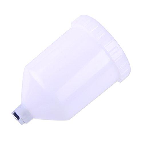 (LETAOSK Plastic Air Gravity Feed Spray Paint Gun Cup Pot)