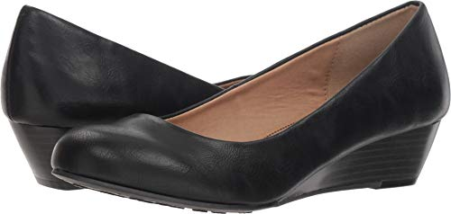 CL by Chinese Laundry Women's Marcie Wedge Pump, Black Smooth, 6 M US