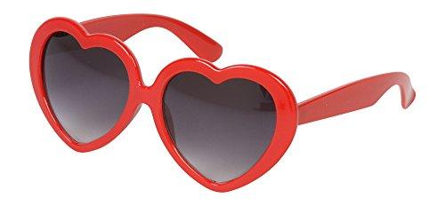 Gravity Shades Heart Shaped Lolita Sunglasses, - Heart Shades