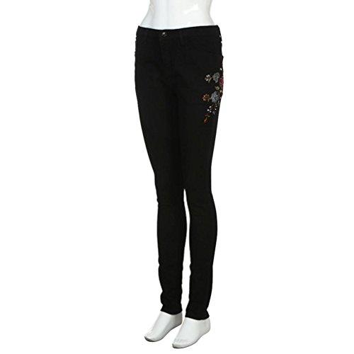 Alta A Vita Ripped nbsp;fori nbsp; donne nbsp;skinny Sammoson Pantaloni Stretching Sottili Jeans Matita H80qzxwq