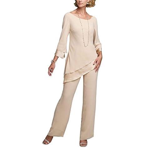 ... suits 2018 elegant formal wedding guest · low cost irisdress women s  2pc pant suit plus size long sleeve mother of bride dress ... 8bac63ab30b6