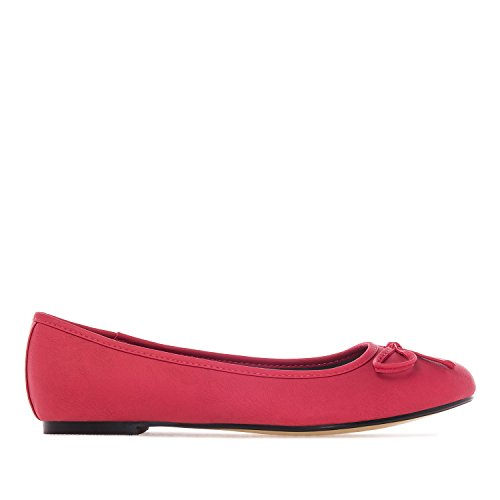 Machado Rouge Femme Simili Textures Andres Diffrentes Dans Pull Ballerine Taille 45 Classique Cuir Grande Tg104 42 fxnZwd