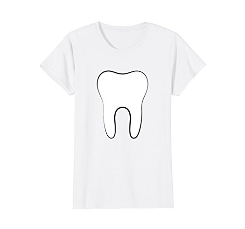 Womens Tooth Fairy Couples Halloween 2017 Tshirt Large (Great Couple Halloween Costume Ideas 2017)