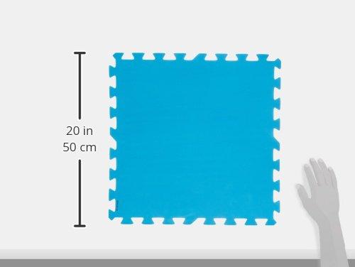 Bestway protezione per il fondo della piscina colore blu
