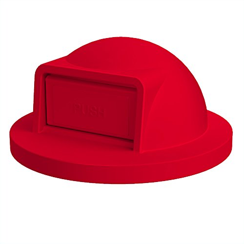 (Dome Top For 55 Gallon Drum   Red)