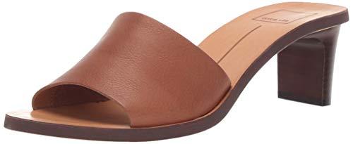 Dolce Vita Women's Kylin Slide Sandal, Brown Leather, 7.5 M US Dolce Vita Brown Leather