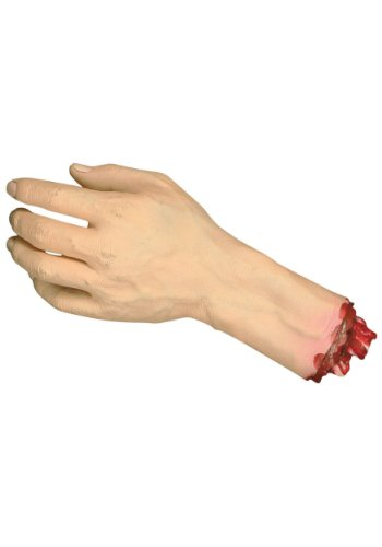 Severed Hand (Haunted House Prop Ideas)