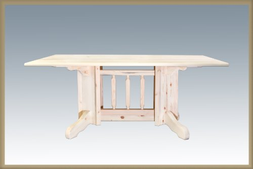 HCDPTN Homestead Collection Double Pedestal Dining Table, Ready to Finish ()